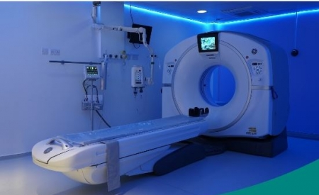 State-of-the-art CT Scanner - CT Scan GE Revolution EVO Machine Generation 3